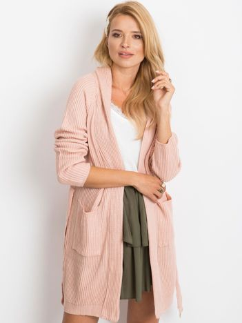 RUE PARIS Różowy sweter Grenade