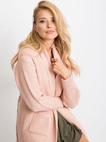 RUE PARIS Różowy sweter Miracle