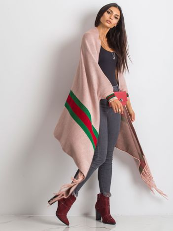 RUE PARIS Różowy sweter Space