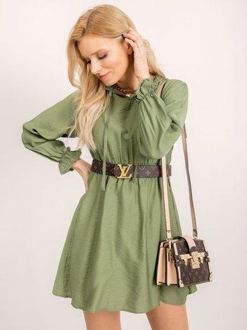RUE PARIS Zielona sukienka Cindy