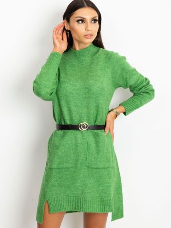 RUE PARIS Zielona sukienka Harmony