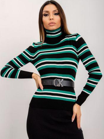 RUE PARIS Zielony sweter Kandice