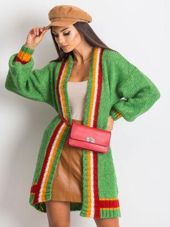 RUE PARIS Zielony sweter Lavish