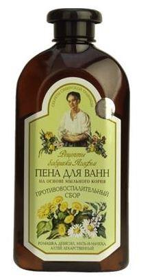 """Receptury Babuszki Agafii Płyn do kąpiel ziołowy trawy Tajgi 500 ml"""""""