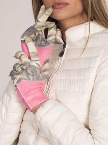Rękawiczki w koty