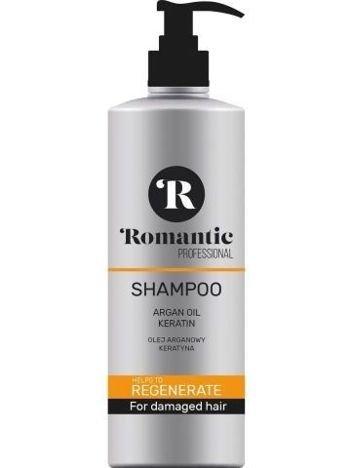 Romantic Professional Szampon do włosów Regenerate  850 ml