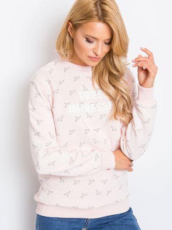Różowa bluza Savannah