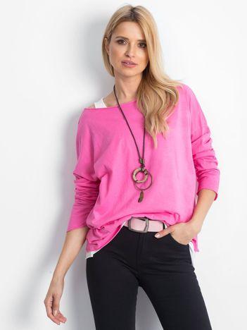Różowa bluzka Juxtaposition