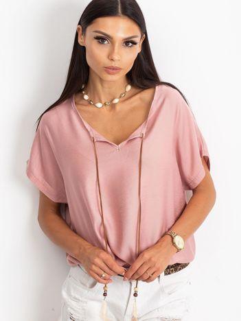 Różowa bluzka Kiss