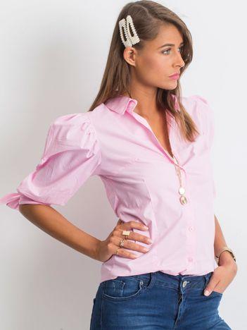 Różowa koszula Diva
