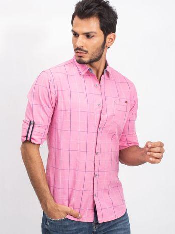 Różowa męska koszula Extraordinary