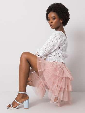 Różowa spódnica tiulowa Suerta OCH BELLA