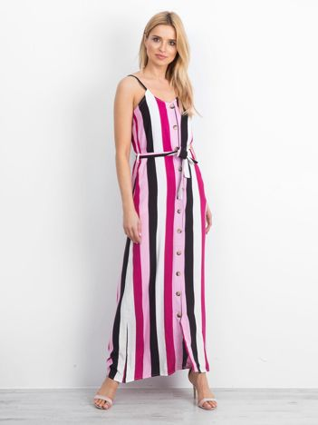 Różowa sukienka Custodian