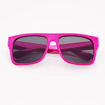Różowe Dziecięce Okulary przeciwsłoneczne Z Metalicznym Połyskiem