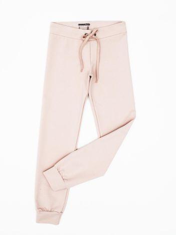 Różowe dresowe spodnie dziecięce