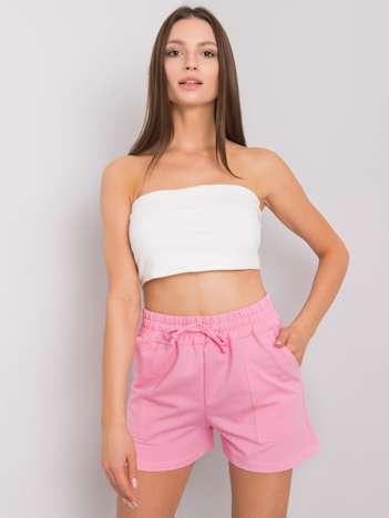 Różowe szorty dresowe Ashanti RUE PARIS