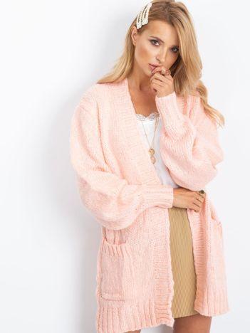 Różowy sweter Belize