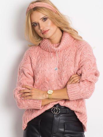 Różowy sweter Heavenly