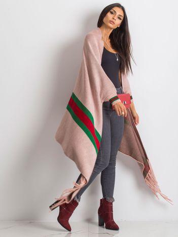 Różowy sweter Space
