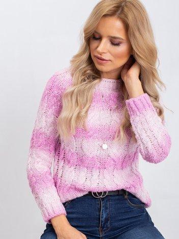 Różowy sweter Tracey