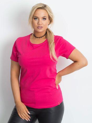 Różowy t-shirt Innocence PLUS SIZE