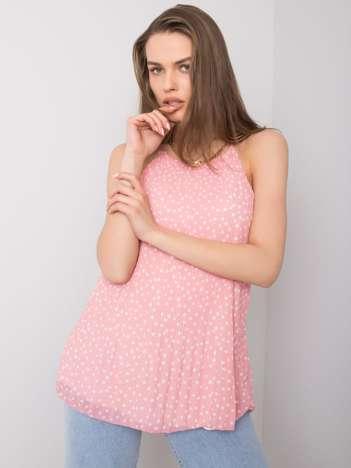 Różowy top we wzory Maribelle SUBLEVEL