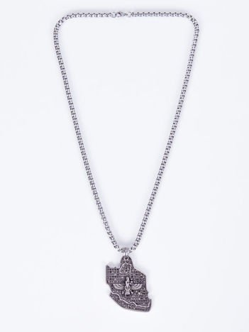 SCANDEZZA Naszyjnik srebrny z zawieszką