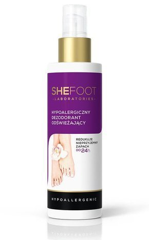 SHEFOOT Dezodorant odświeżający spray 150ml (Refreshing Deodorant)