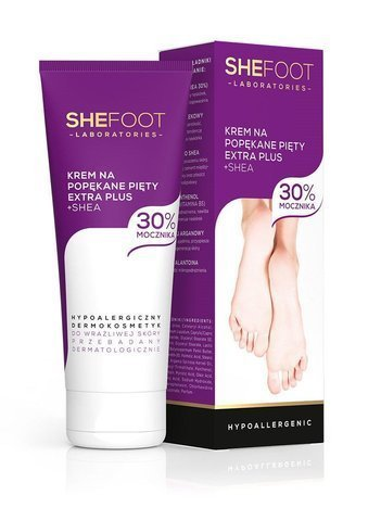 SHEFOOT Krem na popękane pięty extra+ 75ml (Cracked Heel Extra Plus Repair)