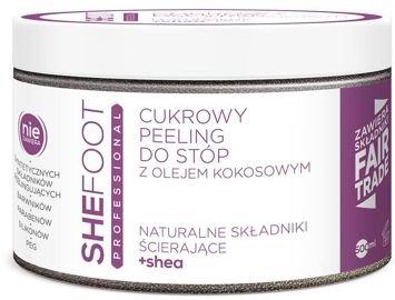 SHEFOOT PROFESSIONAL Profesjonalny cukrowy peeling do stóp z olejem kokosowym 500ml