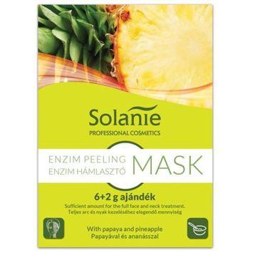SOLANIE Profesjonalna alginatowa maska - peeling enzymatyczny (6+2g)