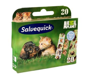 """Salveqiuck Plastry Animal Planet dla dzieci  1op-20szt"""""""