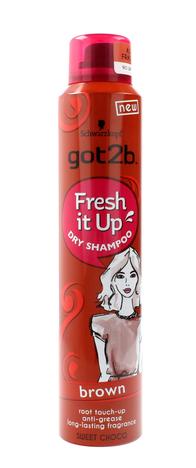 """Schwarzkopf Got 2b Fresh It Up Suchy szampon do włosów Brown  200ml"""""""