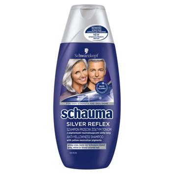 Schwarzkopf Schauma Szampon do włosów Silver Reflex  250 ml
