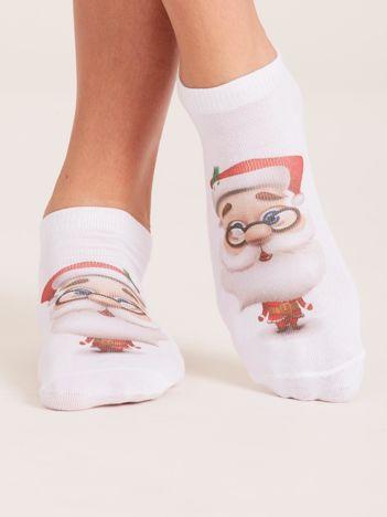 Skarpety stopki w Mikołaje