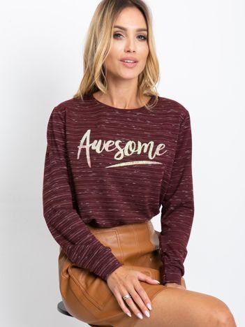 Śliwkowa bluzka Awesome