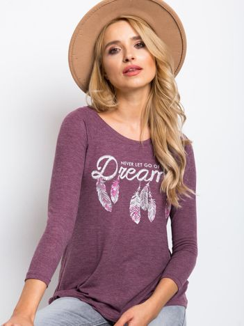 Śliwkowa bluzka Dreams