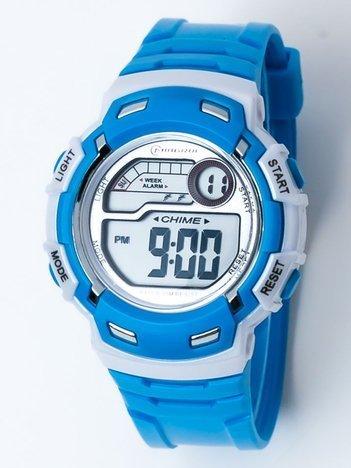 Sportowy Niebieski Zegarek  WR 30M