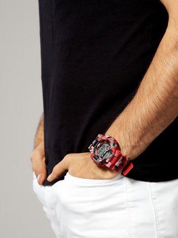 Sportowy męski zegarek wielofunkcyjny. Wodoodporny.