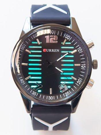 Sportowy zegarek męski z podświetlaną tarczą