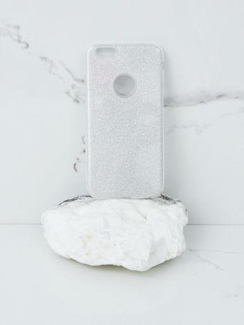 Srebrne brokatowe etui do iPhone 6G