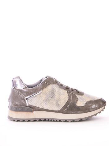 buty damskie adidas białe z lustrzana srebrna wstawką