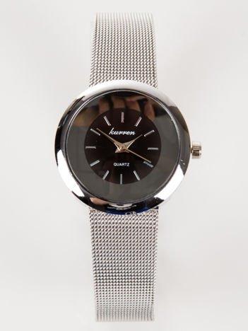 Srebrny zegarek damski z bransoletą MESH