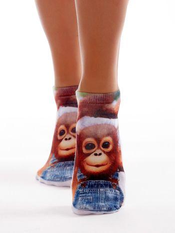 Stopki damskie z małpką