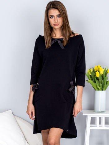 Sukienka RV-SK-4043.07 BLACK