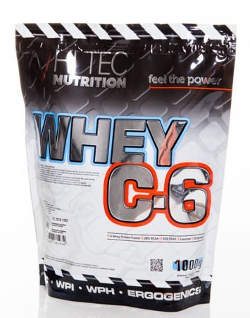Suplementy diety HiTec - Whey C6 wanilia 1000g