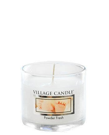 Świeca zapachowa Village Candle Mini Glass 29gr - Powder Fresh