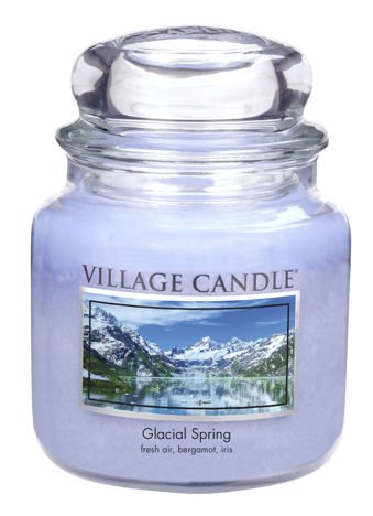 Świeca zapachowa Village Candle ŚREDNIA 453 gr - Glacial Spring
