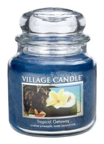 Świeca zapachowa Village Candle ŚREDNIA 453 gr - Tropical Geteway