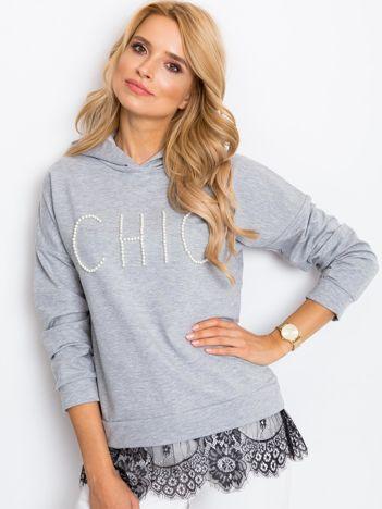 Szara bluza Chic